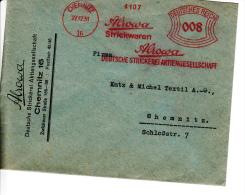 Deutsches Reich, Alrowa Strickwaren, Deutsche Strickerei, Chemnitz, 1931 (5937) - Textile