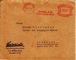 Deutsches Reich, Universelle, Cigarettenmaschinen-Fabrik, Dresden, 1940 (5943) - Tabac