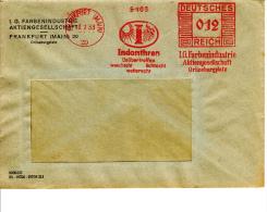 Deutsches Reich, Indanthren, I.G. Farbenindustrie, Unübertroffen Waschecht, Lichtecht Wetterecht, Frankfurt, 1933 (5966) - Textile