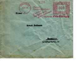Deutsches Reich, Otto Hörnig, Söckchen, Sportstrümpfe, Damenstrümpfe, Strümpffabriken, Chemnitz, 1935 (5967) - Textile
