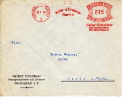 Deutsches Reich, Voile Und Crepon, Garne, Herbert Schreiterer, Kammgarnspinnerei Und Zwirnerei, Reichenbach, 1930 (5971) - Textile