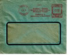 Deutsches Reich, Richard Heinig, Meerana, Neuheiten In Damenkleider Und Mantelstoffen, 1935 (5974) - Textile
