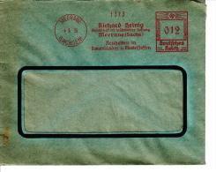 Deutsches Reich, Richard Heinig, Meerana, Neuheiten In Damenkleider Und Mantelstoffen, 1935 (5975) - Textile