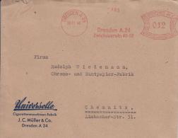 Deutsches Reich, Universelle, Cigarettenmaschinen-Fabrik, J.C. Müller, Excelsior-Rapid, Dresden, 1940 (5994) - Tabac