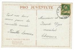 Suisse /Schweiz/Svizzera/Switzerland/Pro-Juventute// Carte Pro-Juventute De 1919 - Pro Juventute