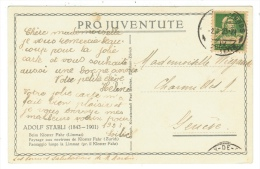 Suisse /Schweiz/Svizzera/Switzerland/Pro-Juventute// Carte Pro-Juventute De 1922 - Pro Juventute