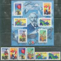 France - 2005 - Jules Vernes Voyages - Serie+BF, Neufs** - France