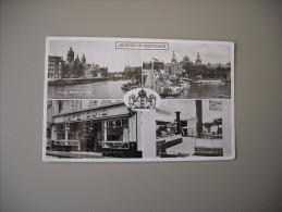 PAYS BAS HOLLAND NOORD-HOLLAND GROETEN UIT AMSTERDAM RUTECK CAFETARIA 108 NIEUWENDIJK - Amsterdam