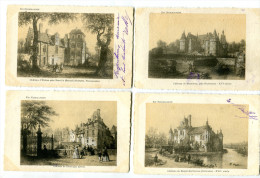 Lot De 12 Cpa  Gravures  Série « En Normandie » Cartes Précurseur - Postcards