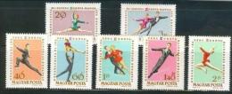 HUNGARY - 1963. Eur.Figure Skating Chships Cpl.Set MNH! - Ungebraucht