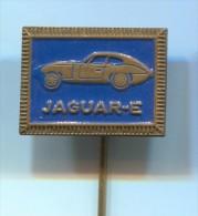 JAGUAR E - Car Auto Automobile, Vintage Pin Badge - Jaguar