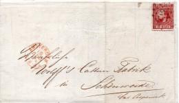 PAYS BAS LETTRE D'AMSTERDAM 1869 - Poststempel