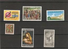 Lot  Divers Timbres Neufs 1960-66 - Nouvelle-Zélande