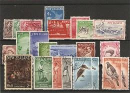 Lot  Divers Timbres Obl 1956-60 - Nouvelle-Zélande