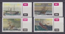 Ciskei 1994 Shipwrecks 4v  + Margin  ** Mnh (23904) - Ciskei