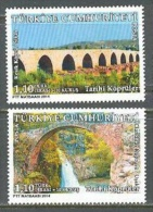 2014 TURKEY HISTORICAL BRIDGES MNH ** - Nuevos