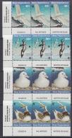 Ross Dependency 1997 Sea Birds WWF 4v  (strip 3 Sets, Corner)  ** Mnh (23908) - Ongebruikt