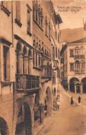 """02068 """"(TREVISO) SALUTI DA VITTORIO - PALAZZO TROJER"""" ANIMATA. CART. ILLUSTR. ORIG. SPED. 1909 - Italia"""