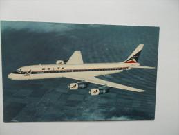 Delta's Modern Jet Fleet Includes The Douglas DC-8 Fanjet - 1946-....: Moderne