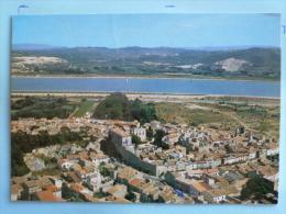 V08-30-gard-aramon-vue Aerienne--en Arriere Plan Le Rhone-- - Aramon