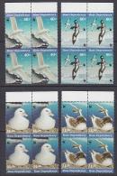 Ross Dependency 1997 Sea Birds WWF 4v  Bl Of 4 ** Mnh (23909) - Ongebruikt