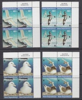 Ross Dependency 1997 Sea Birds WWF 4v  Bl Of 4  (corners) ** Mnh (23909A) - Ongebruikt