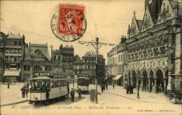 N°304 MMM 74 SAINT QUENTIN LA GRANDE PLACE STATION DES TRAMWAYS - Saint Quentin