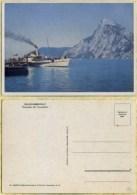 Ak Österreich - Salzkammergut - Traunsee Mit Traunstein - Schiff , Ship - Dampfer