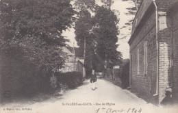SAINT VALERY EN CAUX.Rue De L'Eglise. - Saint Valery En Caux