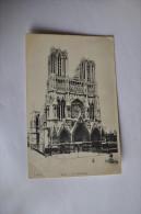 FRANCE REIMS LA CATHÉDRALE   FAÇADE    859 - Reims