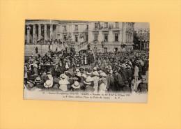 TOURS - Rentrée Du 66e D´Inf Le 14 Sept 1919 - Le 8e Génie Défilant Du Palais De Justice - Tours
