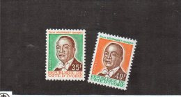 Côte D´Ivoire YT 376-377 XX/MNH - Côte D'Ivoire (1960-...)