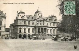 Autun L Hotel De Ville - Autun