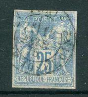 FRANCE ( COLONIES ) :  Y&T N°  36  TIMBRE  AVEC  BELLE  OBLITERATION  ,  A  VOIR .