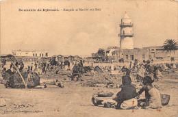 ¤¤   -   DJIBOUTI    -   Mosquée Et Marché Aux Bois      -  ¤¤ - Gibuti