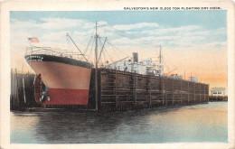 ¤¤   -   ETATS-UNIS   -  TEXAS   -  GALVESTON   -  Galveston's New 10,000 Ton Floating Dry Dock      -  ¤¤ - Galveston