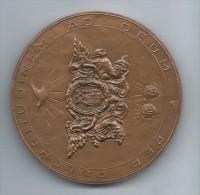 Médaille De Table/Notre Dame De MONTMARTRE/Patronne Des Artistes/Bronze/Monnaie De Paris /1982   MED8 - France