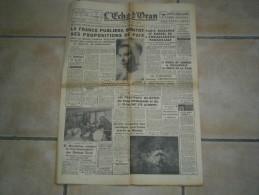 JOURNAL L´ECHO D´ORAN Du 6 Février 1962 ( Guerre D´algèrie ) édition Spéciale De L´o.a.s - 1950 à Nos Jours