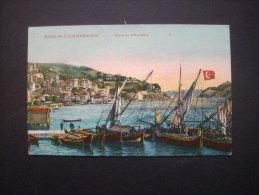 Salut De Constantinople Entrée De La Mer Noire -  Circulée  L208 - Turquia