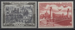 FRANCE - YT PA N° 28-29 - Neufs * - MH - Cote: 101,00 € - Airmail
