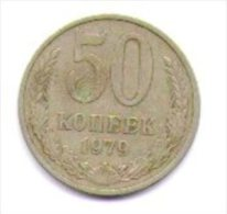 Russia Cccp  50 Copechi 1979 - Rusia