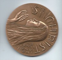 Médaille De Table/Sainte Christine/Bronze/Monnaie De Paris /1984   MED16 - France