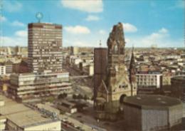 Berlin - Kaiser Wilhelm Gedächtniskirche Und Europa Center - Mitte