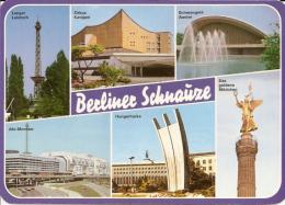 Berlin - Mehrbildkarte 156  Berliner Schnauze 1 - Mitte