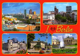 Berlin - Mehrbildkarte 206 - Mitte
