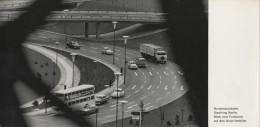 Berlin - S/w Bundesautobahn Stadtring Blick Vom Funkturm Auf Den Avus - Mitte