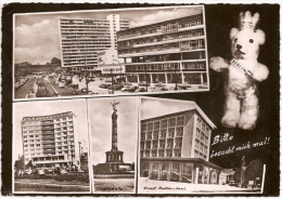 Berlin - S/w Mehrbildkarte 175 - Mitte