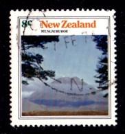 New Zealand 1973 Mountain Scenery 8c Mt. Ngauruhoe Used - - - - New Zealand