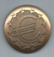 Médaille De Table/EURO/Bronze/Monnaie De Paris /vers 2000     MED18 - Andere