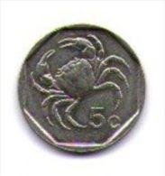 Malta 5 Cent 1991 - Malta